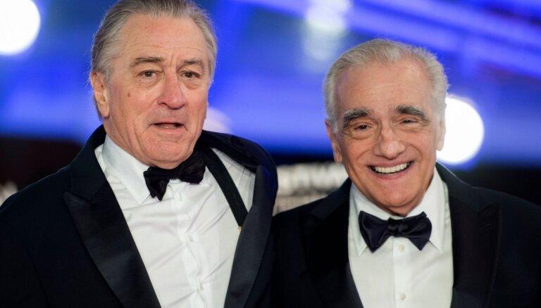 Noskaties! Skorsēzes, De Niro un Pačino jaunās filmas 'The Irishman' treileris
