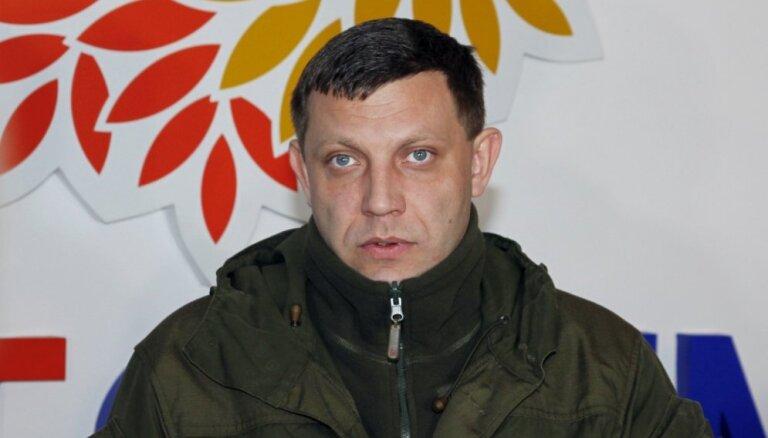 Zaharčenko nāvi Kremlis sauc par provokāciju, Ukraina – par bandu iekšējām cīņām