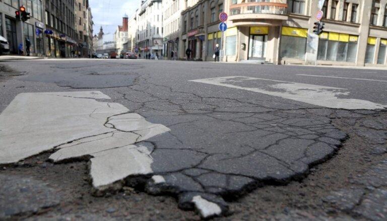 Временная администрация Риги назвала сроки окончания ремонта улицы Чака