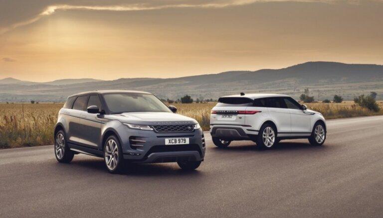 Jaunais 'Range Rover Evoque' izstrādāts pilnībā no nulles 'Velar' stilā