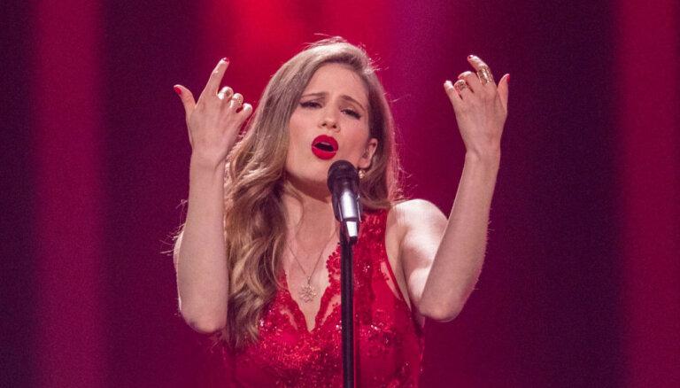 Laura Rizzotto nekvalificējas lielajam 'Eirovīzijas' finālam