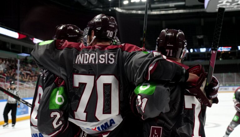 Latvijas hokeja izlase sāk cīņu par ceļazīmi uz Pekinas olimpiskajām spēlēm