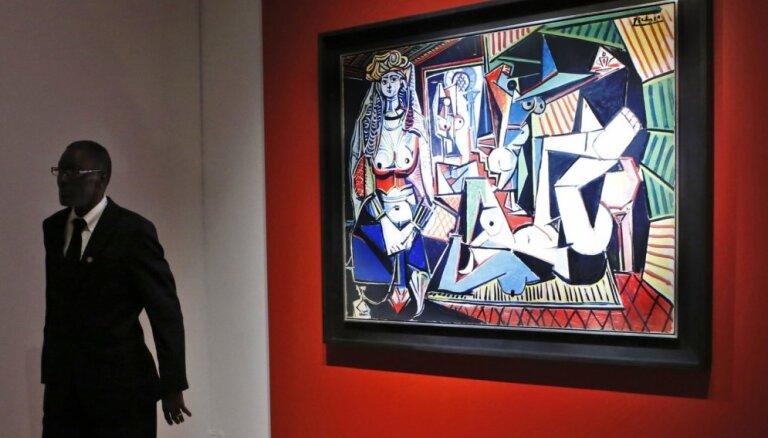 Pikaso ievieš izmaiņas visu laiku dārgāko gleznu topā