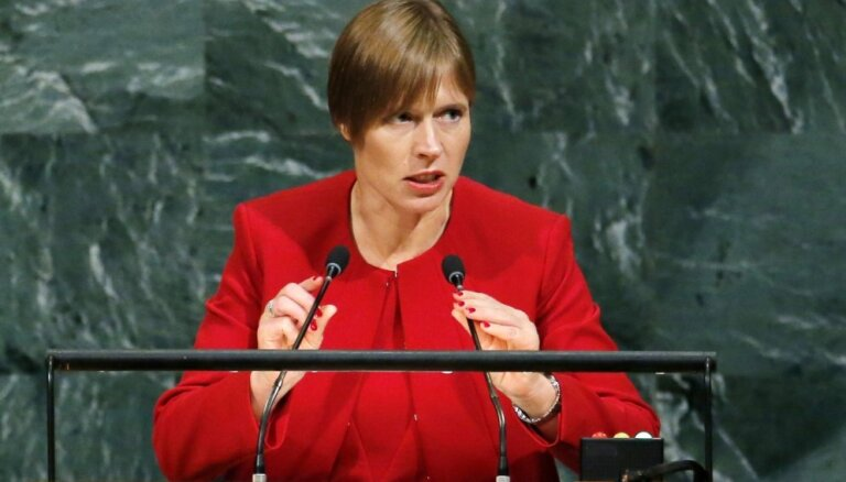 Putina tikšanās ar Kaljulaidu tiek gatavota, paziņo Kremlis