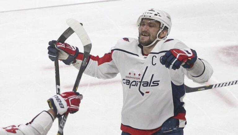 Овечкин первым в истории НХЛ забросил в десяти сезонах 45 и более шайб