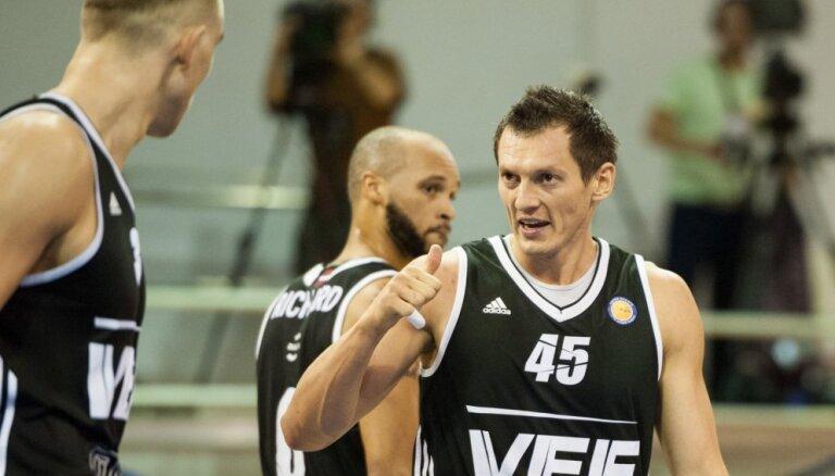 ВЭФ вырвал победу в овертайме у лучшего клуба Беларуси