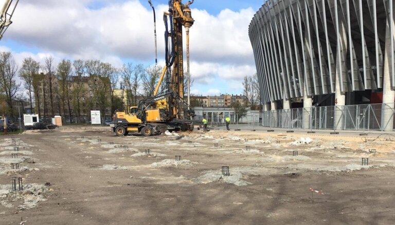 'Daugavas' stadiona ledus halles projekts var zaudēt Eiropas finansējumu