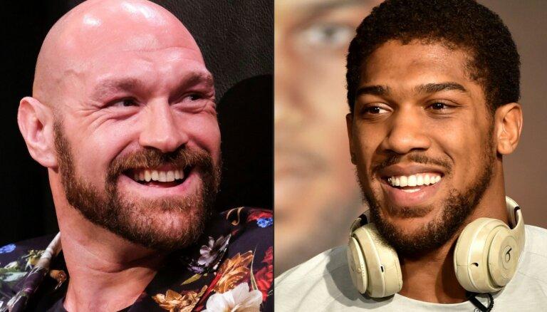 По $125 млн каждому: Джошуа и Фьюри подписали контракт на рекордный бой в истории бокса
