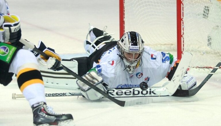 Paziņoti KHL 20.nedēļas labākie spēlētāji