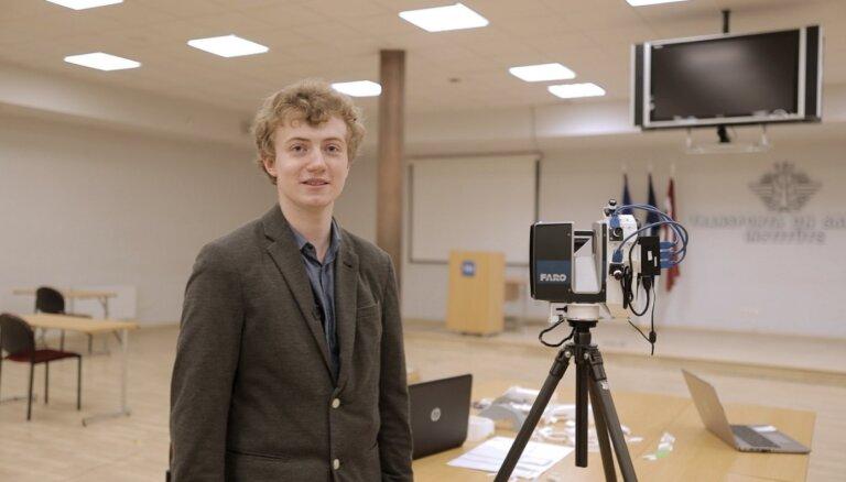 No padoma kolēģim līdz inovatīva risinājuma radītājam – talantīgais students Ivans Gercevs