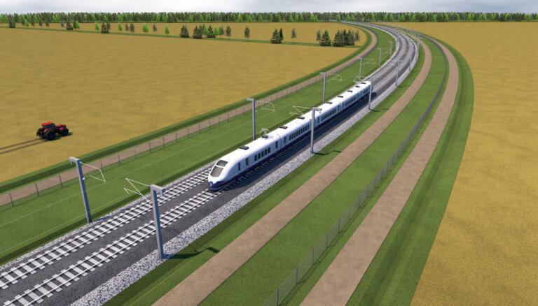 Представители Rail Baltica рассказали, когда может начаться строительство мегапроекта