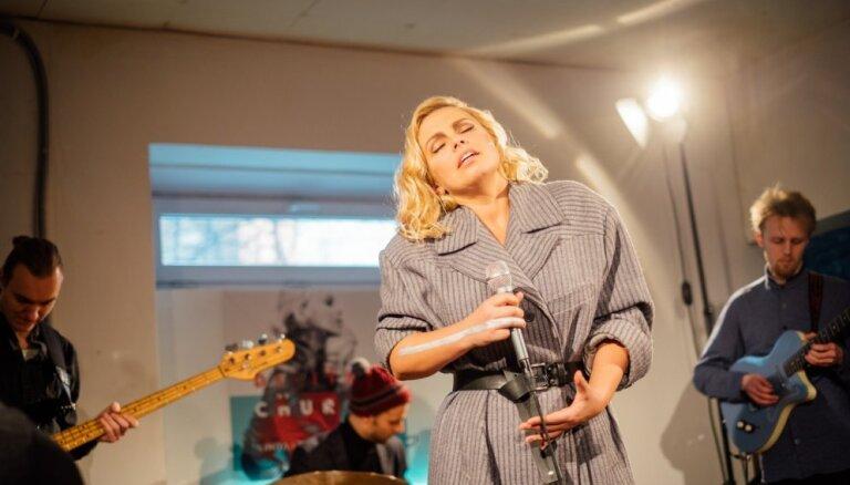 Foto: Linda Leen prezentē savu jaunāko albumu 'Digital Church'