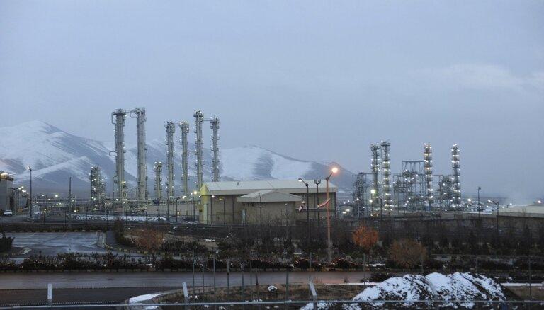 Irāna paziņo precīzu bagātinātā urāna ierobežojuma pārkāpšanas datumu