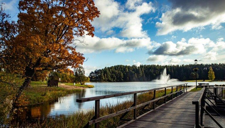 ФОТО. Яркая осень в Смилтене
