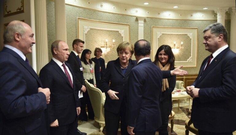 Berlīnē sācies 'Normandijas četrinieka' samits