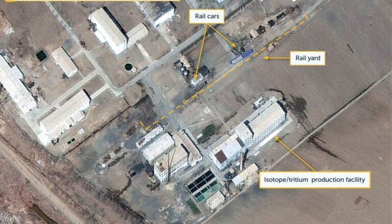 Ziemeļkorejas galvenajā kodolobjektā konstatēta aktivitāte