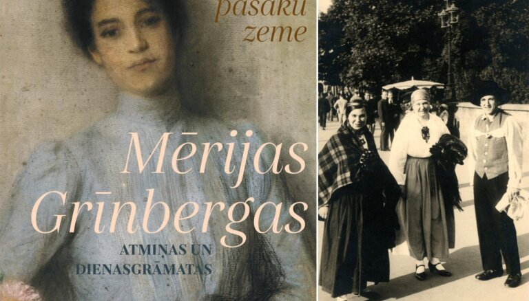 Izdoti Mērijas Grīnbergas (vecākās) atmiņu pieraksti un dienasgrāmatas