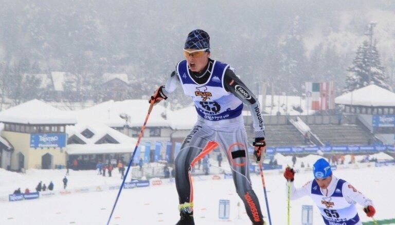 Bikše Pasaules kausā Somijā uzrāda labāko Latvijas slēpotāju rezultātu