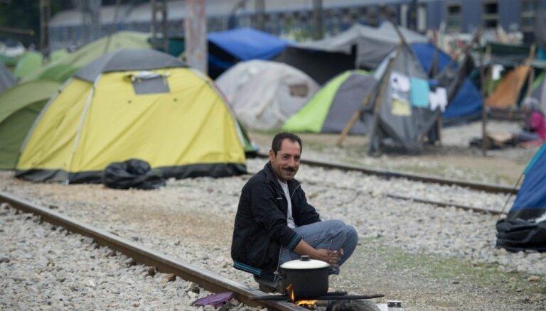 Приехавший в Латвию сириец Махмуд: мы здесь не для того, чтобы просить милостыню