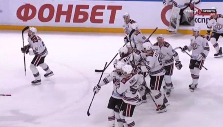 Video: 'Play' vai 'off' - Rīgas 'Dinamo' uzvar un turpina izdzīvošanas cīņu