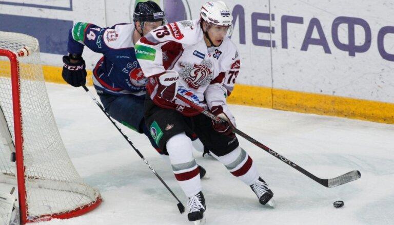 Rīgas 'Dinamo' izbraukumā aizvada Gagarina kausa izcīņas pirmās kārtas otro spēli