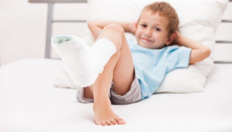 Bērnu traumatisms: kad nedrīkst atlikt ārsta apmeklējumu