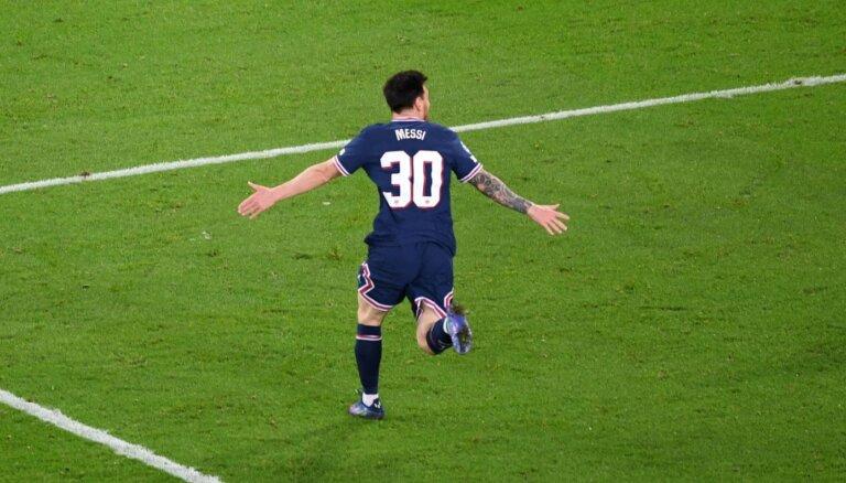 Mesi gūst pirmos vārtus PSG rindās; 'Sheriff' šokē Madridi