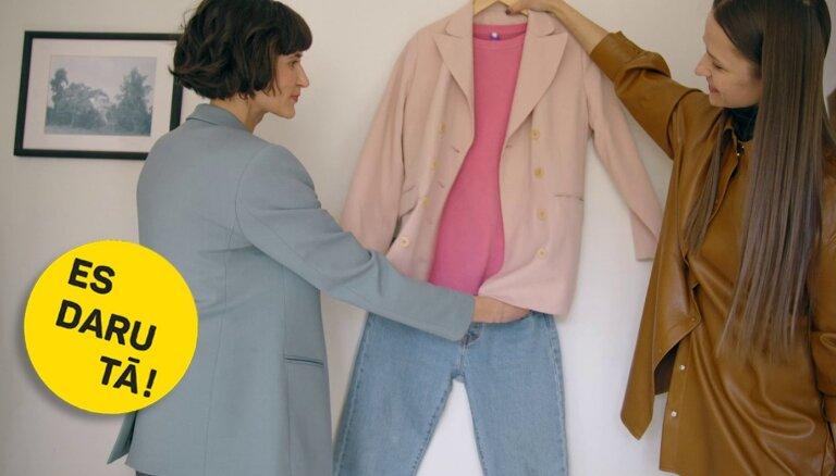 Kapsulas garderobe: Lauras Arnicānes minimālistiskais drēbju skapis