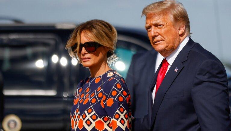 Vai Trampu pāris izšķirsies? Eksperts par noskaņu viņu laulībā
