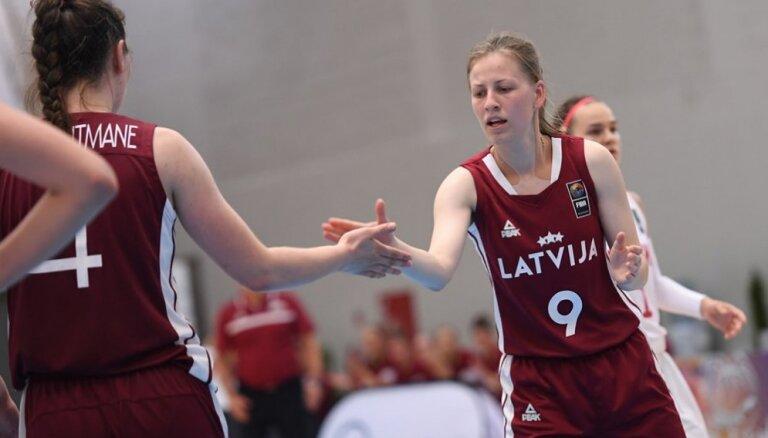 Nosaukts Latvijas U-20 meiteņu basketbola izlases sastāvs Eiropas čempionātam
