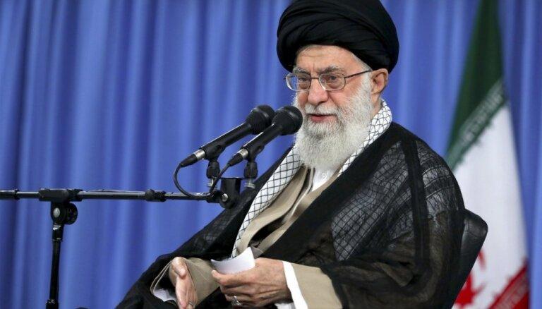 Ar ASV nebūs nedz kara, nedz sarunu, pauž Hamenei