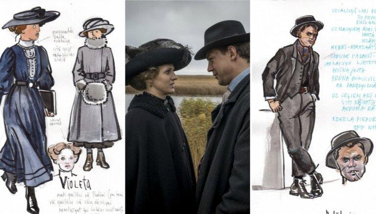 Revolūcijas un bohēmas dvēseles. Iepazīsties – filmas '1906' galvenie varoņi!