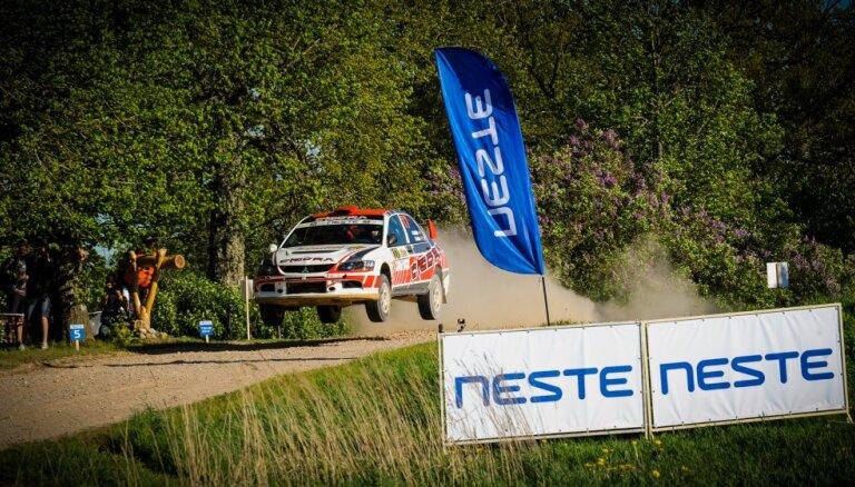 'Neste' ātrumposma tramplīns pārbaudīs 'Rally Talsi' dalībnieku meistarību