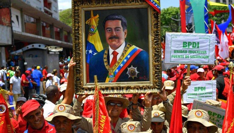 Maduro rosina priekšlaicīgi pārvēlēt opozīcijas kontrolēto parlamentu
