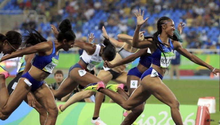 ASV sportistes savāc brangu medaļu ražu vieglatlētikas sacensībās