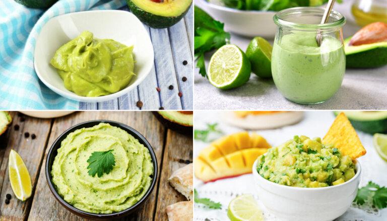 Avokado krēmi, smēriņi un mērces: 14 receptes, kas liks aizmirst par majonēzi