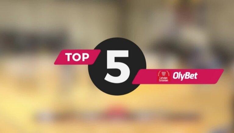 'OlyBet' basketbola līgas nedēļas TOP 5 (13.02.2019.)