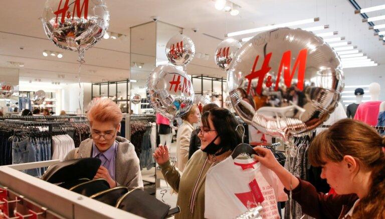'H&M' Vācijā par darbinieku izspiegošanu noteikts 35,3 miljonu eiro naudassods