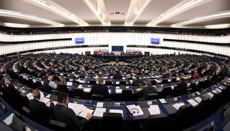 ES dalībvalstis liegs sīkpartijām iekļūt Eiropas Parlamentā