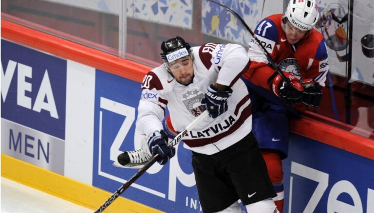 Сборная Латвии пропустила от норвежцев семь шайб