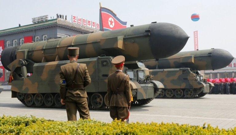 Токио и Сеул заявили о новом запуске ракет Северной Кореей