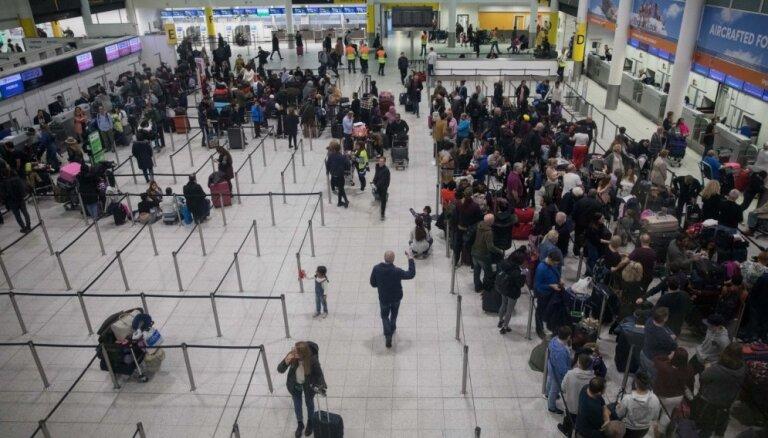 Getvikas lidostai jau trešo dienu uzglūn drons
