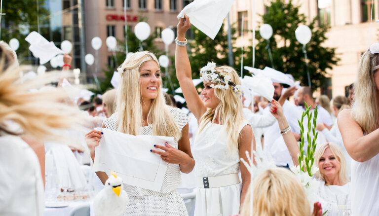 18. jūlijā notiks jau piektais baltais pop-up pikniks