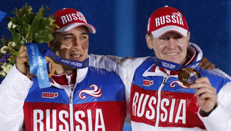Zubkovs: Soču olimpisko spēļu medaļas es neatdošu