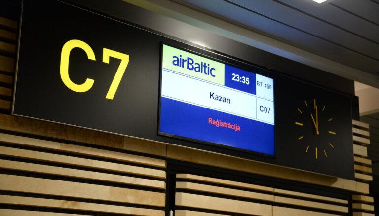 airBaltic начала полеты по маршруту Рига - Казань