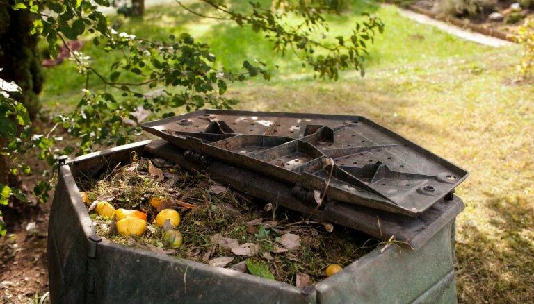 Kompostam piemērotākie un nepiemērotākie atkritumi