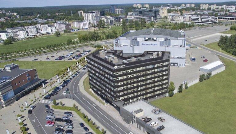 "ФОТО: В Вильнюсе строится бизнес-центр ""Пентагон"""