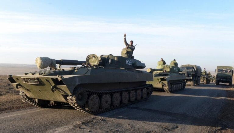 EDSO: nedz Kijeva, nedz kaujinieki nav snieguši informāciju par smago bruņojumu