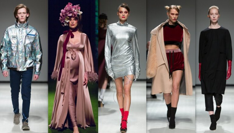Rīgas modes nedēļas noslēgums: smalkums un dumpiniecisks gars