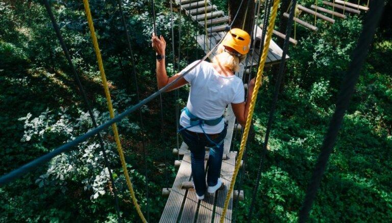 Pirms skolas sākuma uz Zilajiem kalniem: idejas aktīvai atpūtai dabas parkā Ogrē